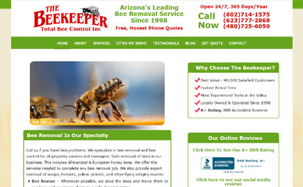 The Beekeeper Total Bee Control Inc.